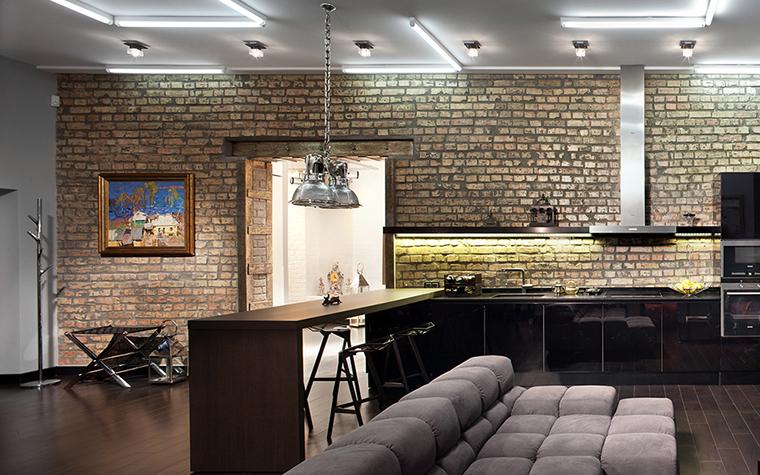 интерьер гостиной - фото № 37706