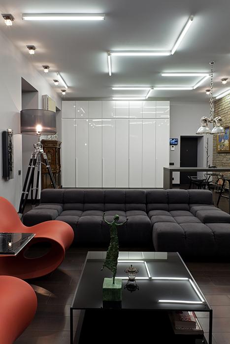 интерьер гостиной - фото № 37708