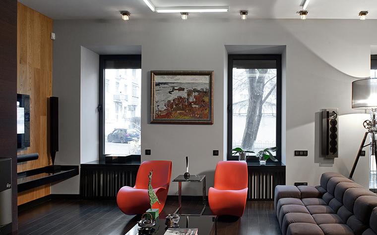 интерьер гостиной - фото № 37702
