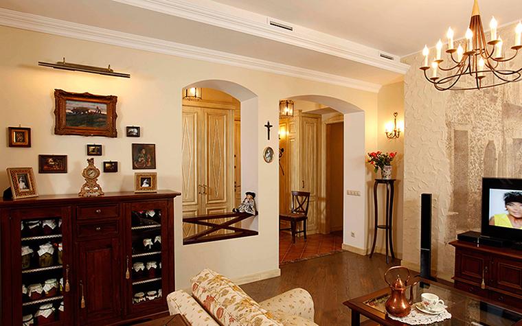 Фото № 37887 гостиная  Квартира