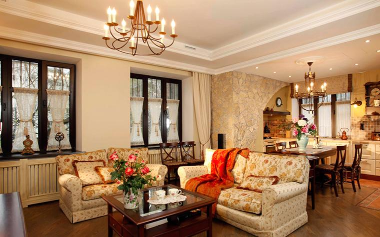 Фото № 37884 гостиная  Квартира
