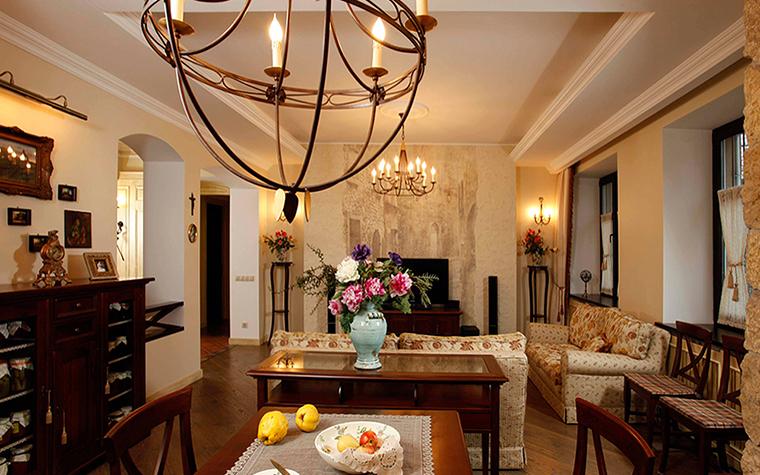 Фото № 37885 гостиная  Квартира