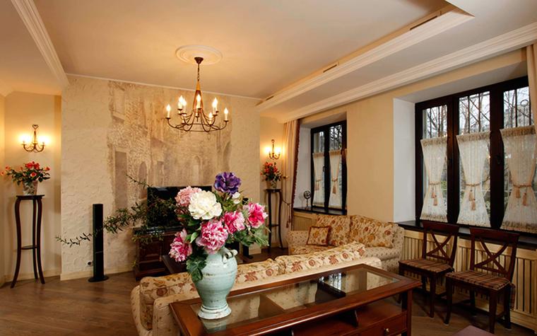 Фото № 37886 гостиная  Квартира