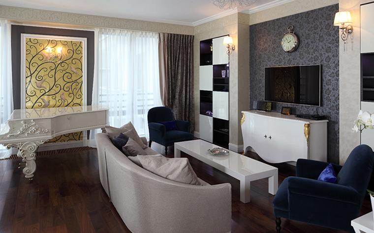 Квартира. гостиная из проекта , фото №37909