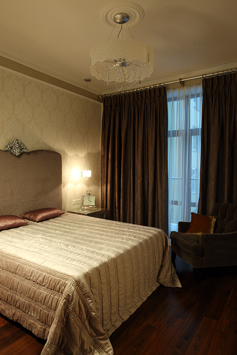 Квартира. спальня из проекта , фото №37919