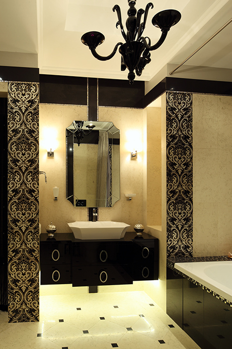 Квартира. ванная из проекта , фото №37925