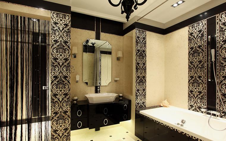 Квартира. ванная из проекта , фото №37926