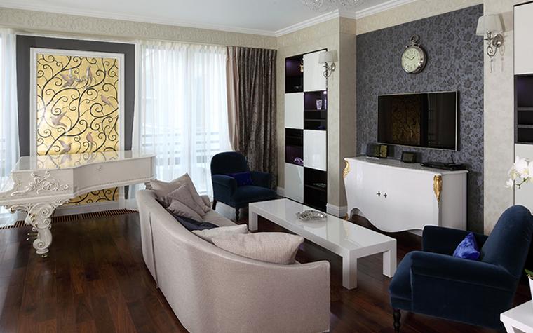 Квартира. гостиная из проекта , фото №37913