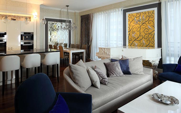 Квартира. гостиная из проекта , фото №37910