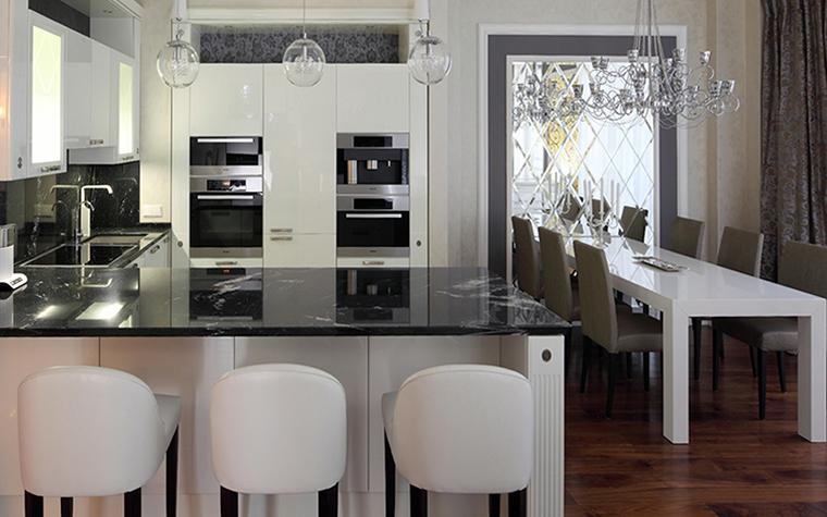 Квартира. кухня из проекта , фото №37914
