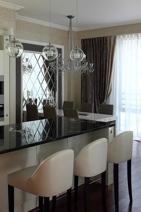 Квартира. столовая из проекта , фото №37917