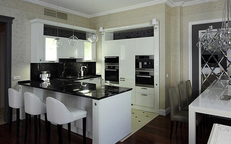 Квартира. кухня из проекта , фото №37916