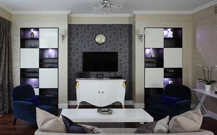 Квартира. гостиная из проекта , фото №37911