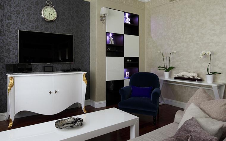 Квартира. гостиная из проекта , фото №37912
