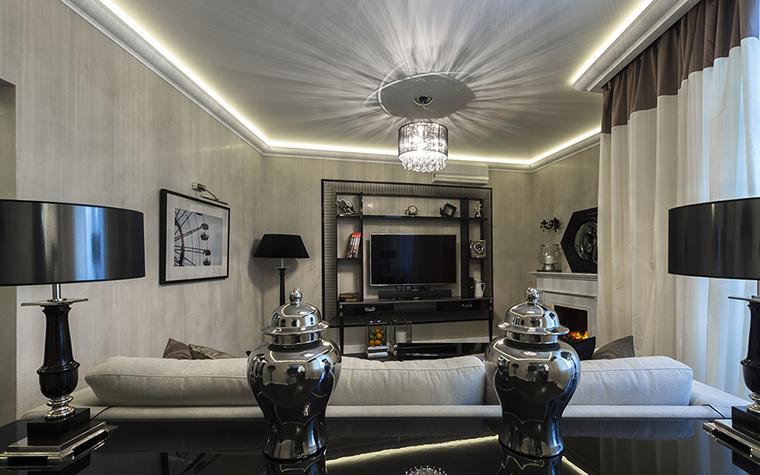 интерьер гостиной - фото № 37968