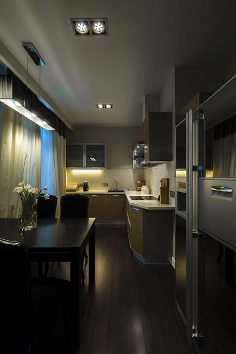 Фото № 37974 кухня  Квартира