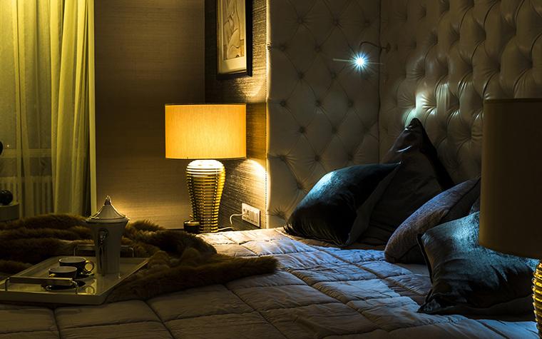 интерьер спальни - фото № 38045