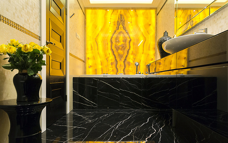Квартира. ванная из проекта , фото №38046