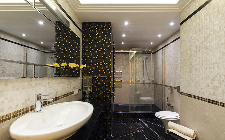 Квартира. ванная из проекта , фото №38048