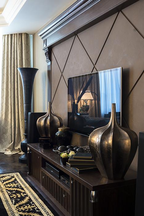 Квартира. гостиная из проекта , фото №38033