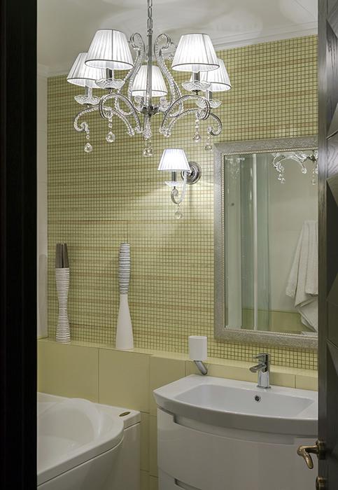 Квартира. ванная из проекта , фото №38061