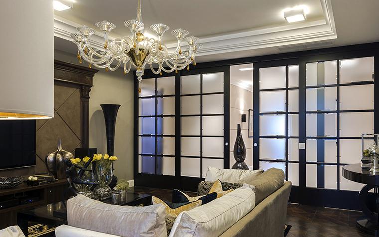 Квартира. гостиная из проекта , фото №38034
