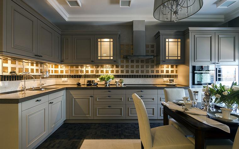 Квартира. кухня из проекта , фото №38036