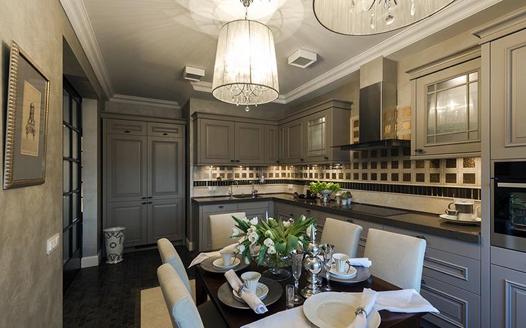 Квартира. кухня из проекта , фото №38039