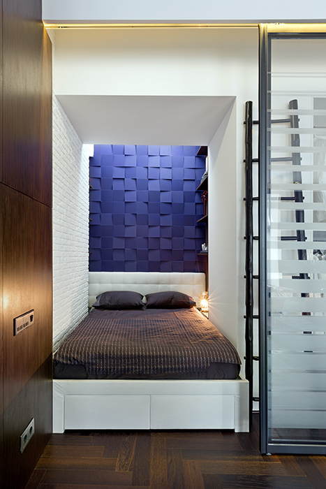 Квартира. спальня из проекта , фото №38064