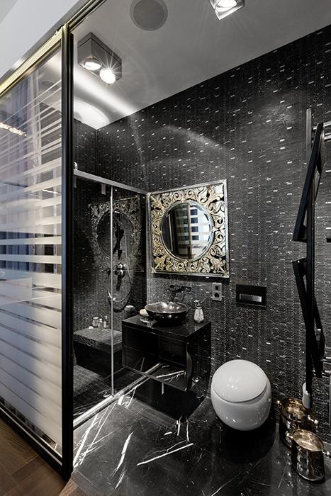Квартира. ванная из проекта , фото №38076