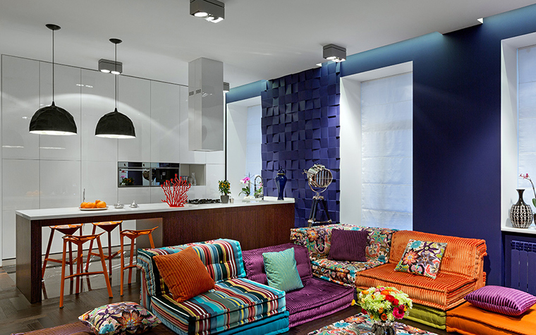 интерьер гостиной - фото № 38071