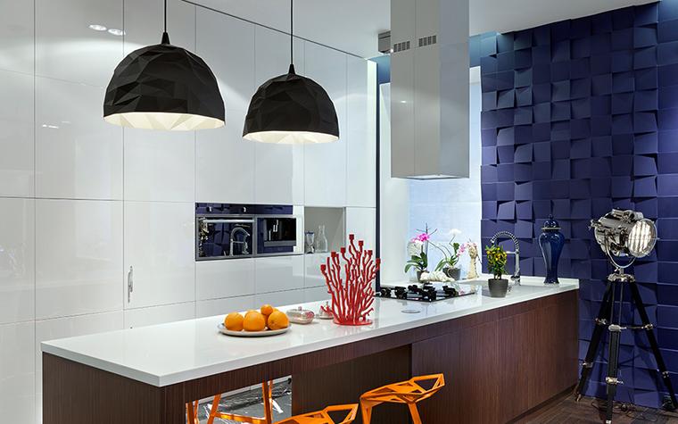 Квартира. кухня из проекта , фото №38066