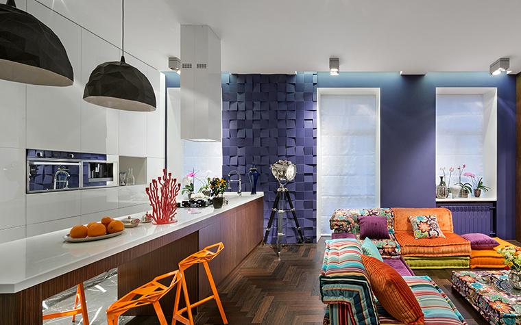 интерьер гостиной - фото № 38072