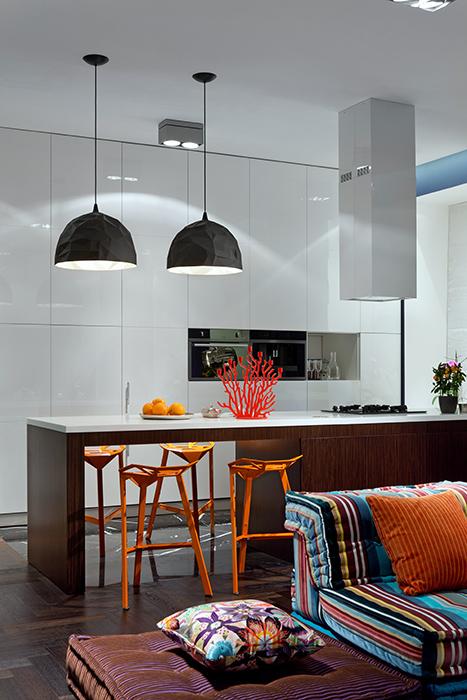 Квартира. кухня из проекта , фото №38067