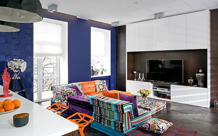 интерьер гостиной - фото № 38069