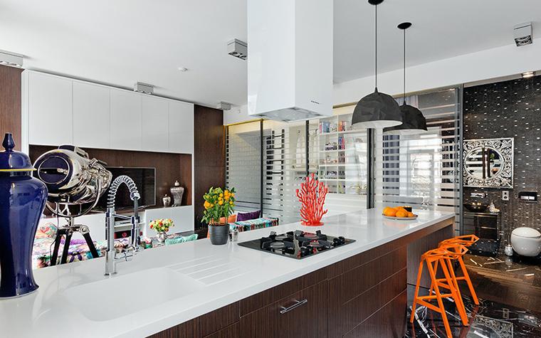 Квартира. кухня из проекта , фото №38079