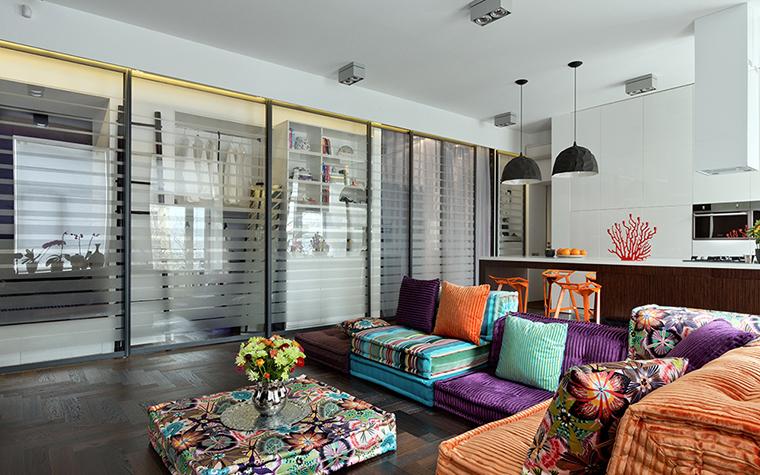 интерьер гостиной - фото № 38070