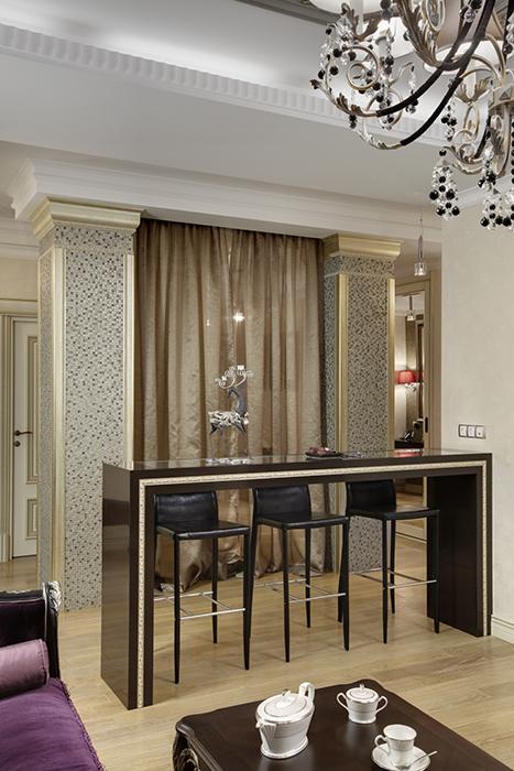 Фото № 38113 гостиная  Квартира