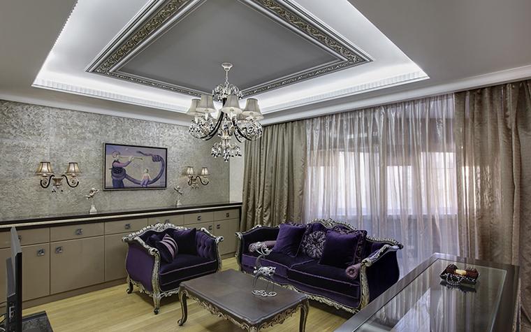 интерьер гостиной - фото № 38100