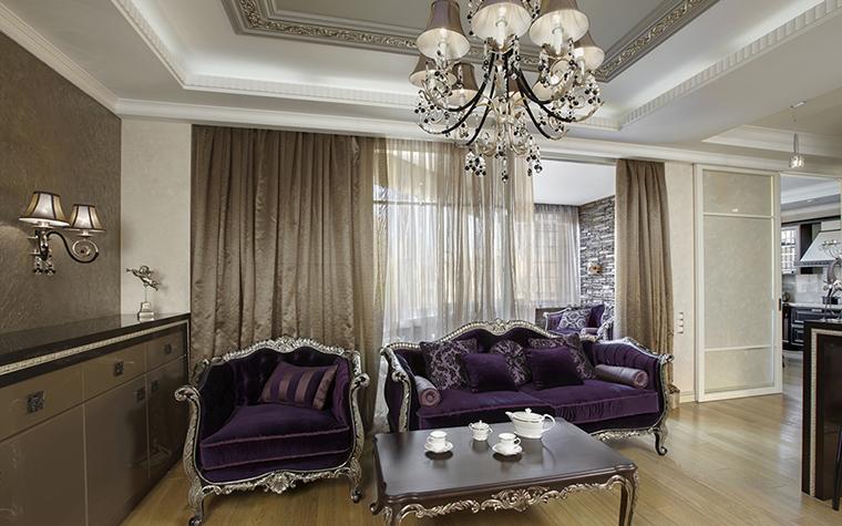 интерьер гостиной - фото № 38101