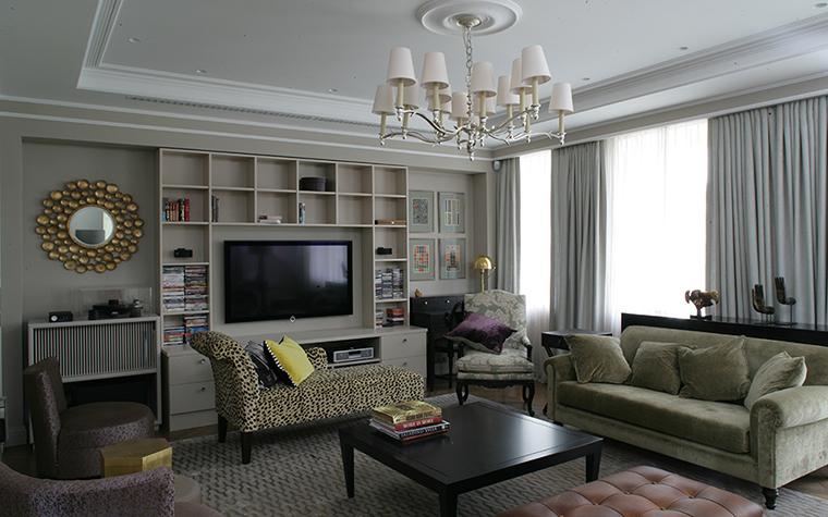 интерьер гостиной - фото № 38267
