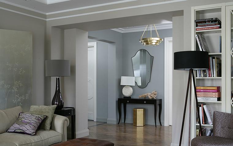 интерьер гостиной - фото № 38270