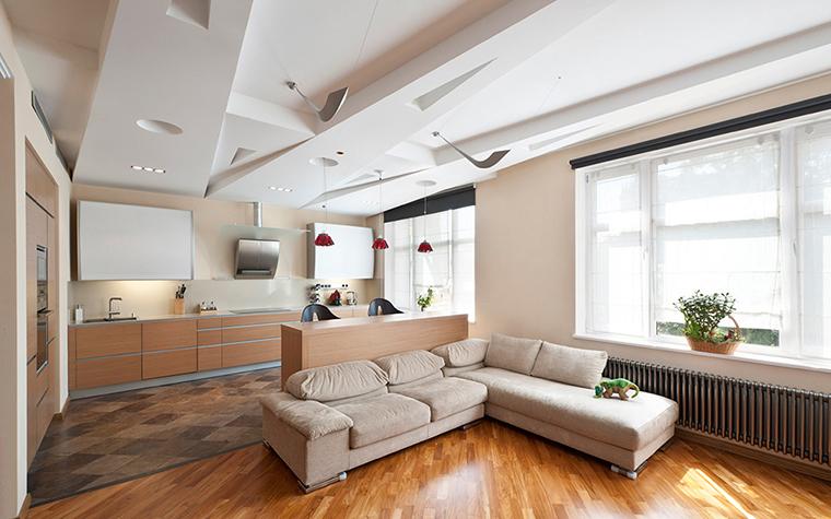 интерьер гостиной - фото № 38348