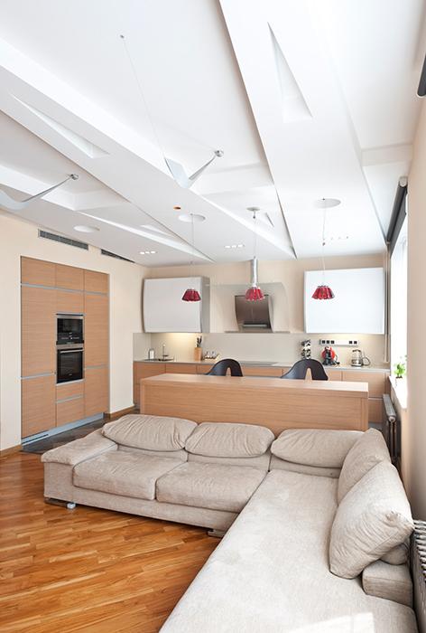 интерьер гостиной - фото № 38349