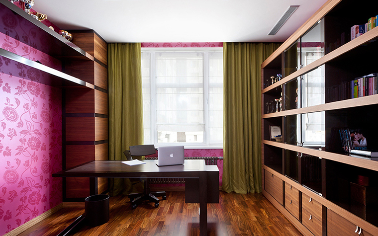 Фото № 38351 кабинет библиотека  Квартира