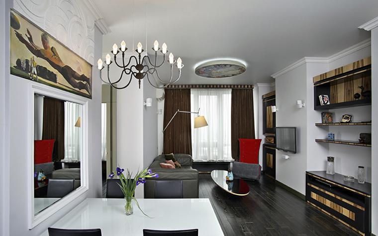 Фото № 38452 гостиная  Квартира