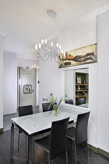Квартира. столовая из проекта , фото №38461