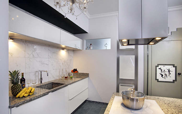 Квартира. кухня из проекта , фото №38469