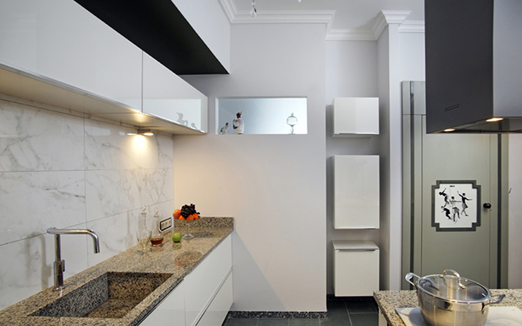 Квартира. кухня из проекта , фото №38470