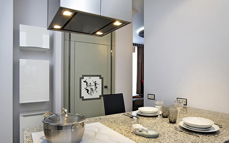 Квартира. кухня из проекта , фото №38471